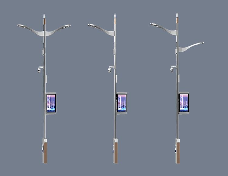 道路智慧灯杆系统图片