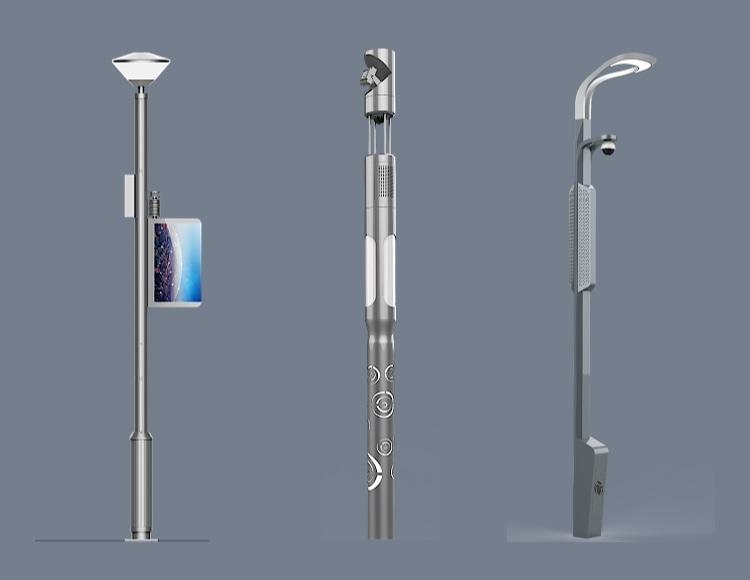 社区智慧灯杆系统产品图