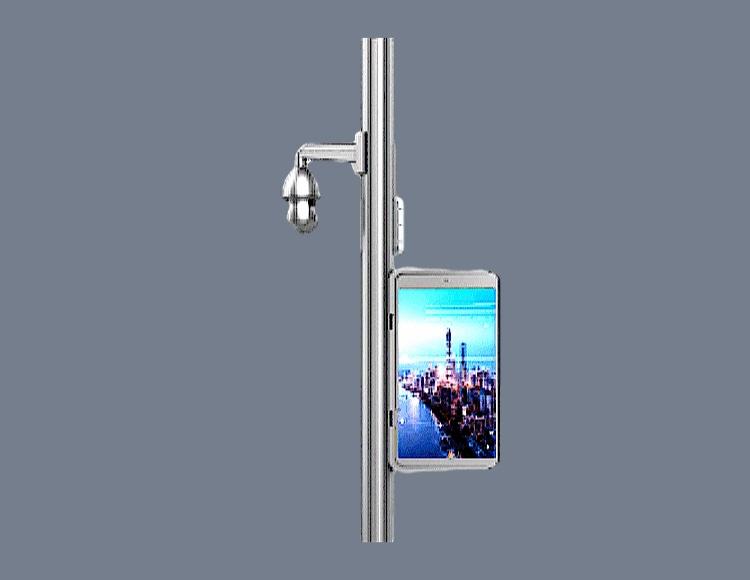 步行街智慧灯杆图片2
