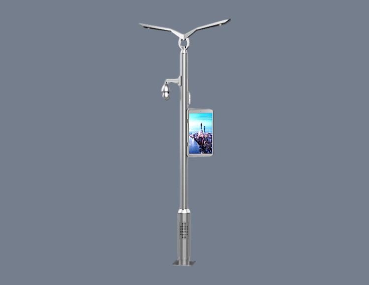 步行街智慧灯杆图片3