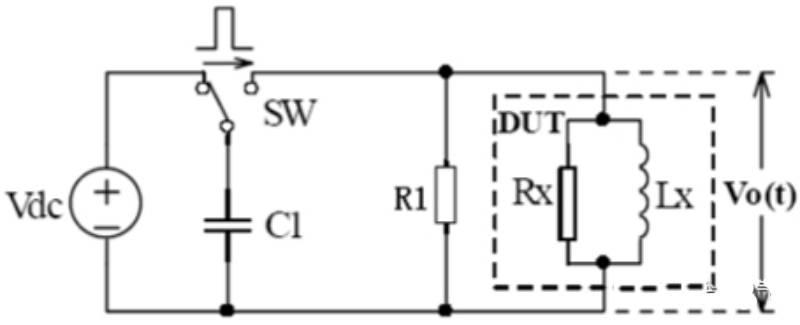 线圈脉冲测试原理简图