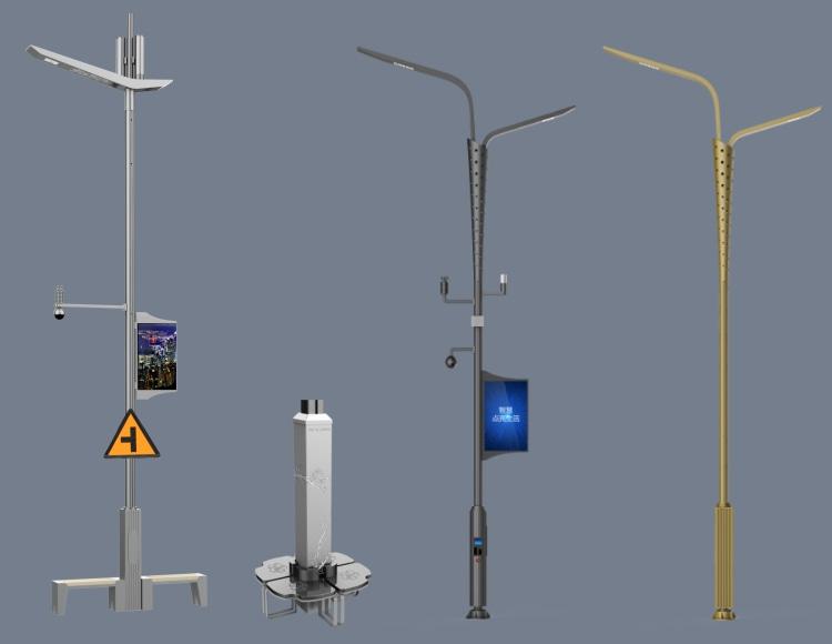 生态景区智慧灯杆
