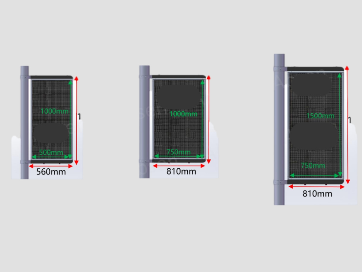 LED显示屏尺寸图