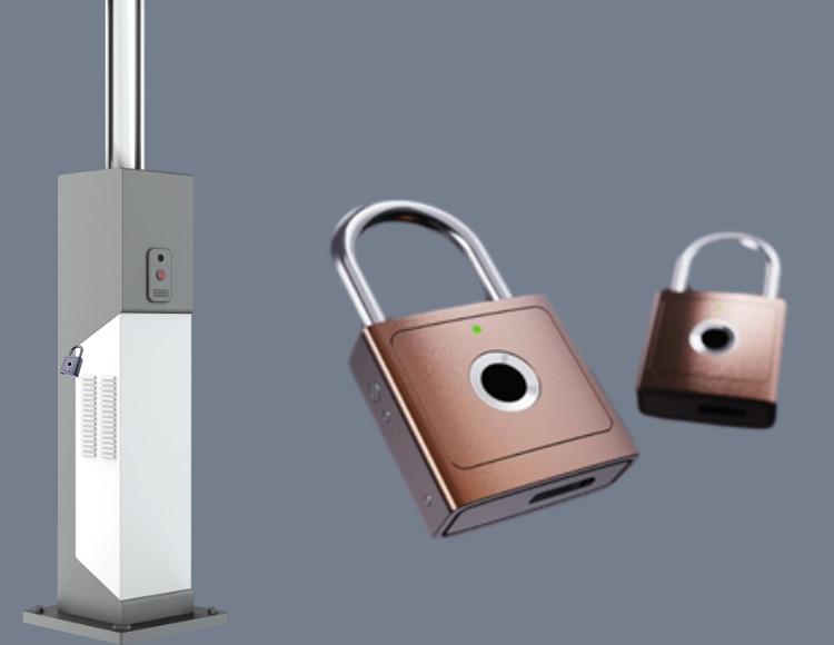 无源智能电子挂锁