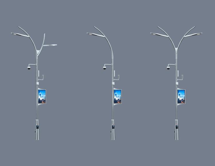 停车场智慧灯杆图片