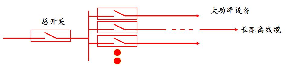 低压系统防越级跳闸保护装置