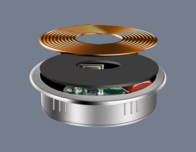智慧灯杆嵌入式无线充电器