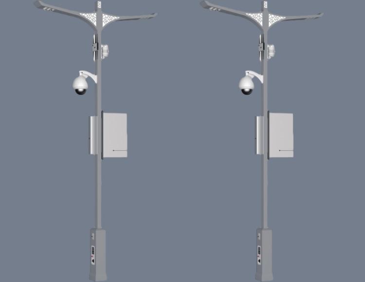 智能一体化小型气象站在智慧灯杆